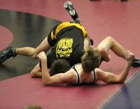Photo of Students Wrestling