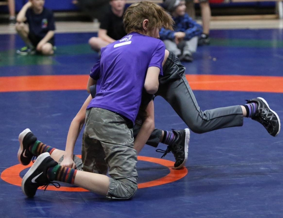Wrestling kids image