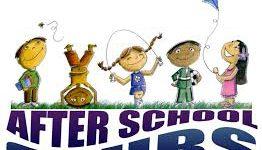 cartoon children over script