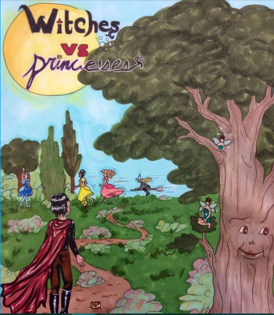 Princess Poster for Drama Production