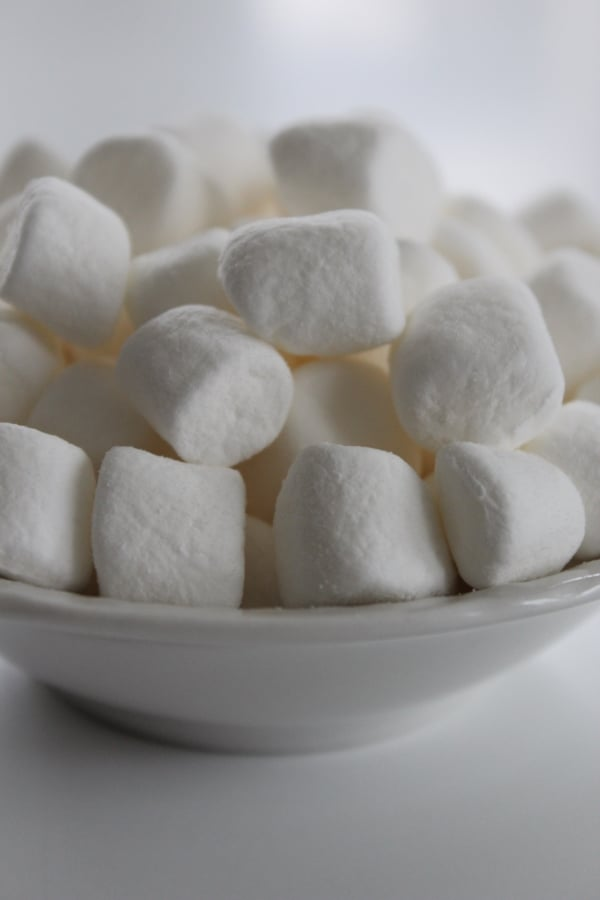 Bowl of Marshmallows Photo