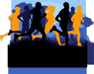 Cross Country Running Image