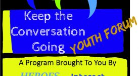 Image for Keep the Conversation Going Youth Forum