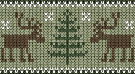 Christmas Sweater Knit Image