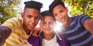 Photo of three boys
