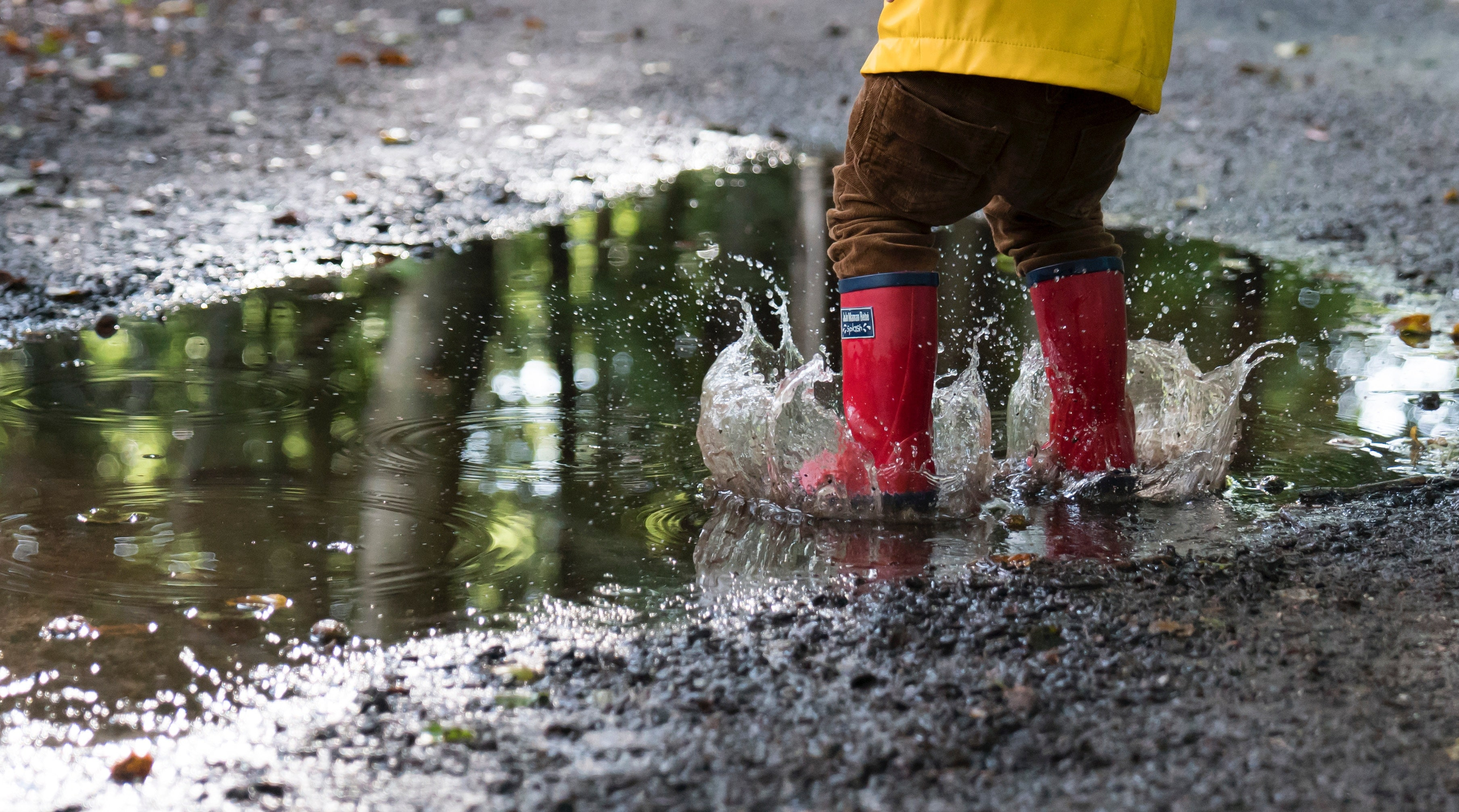 Puddle Jumping Photo