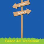 Grade 4-5 Transition Signpost Image