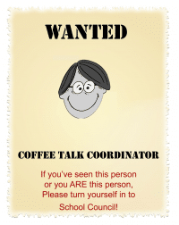 Wanted Poster for Coffee Talk Image