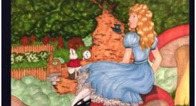 EC Alice in Wonderland Poster