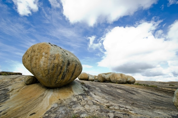Photo of Granite Boulder