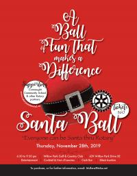 Santa Ball Poster