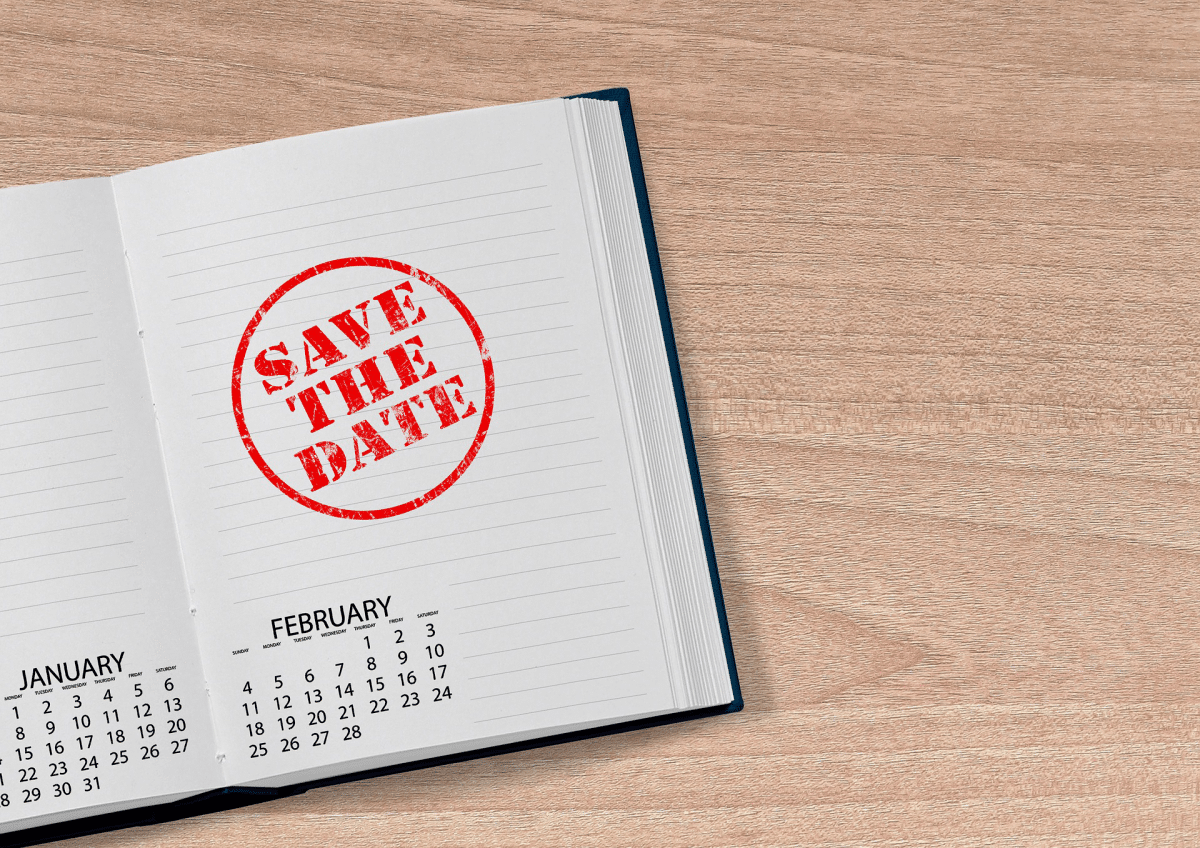 Save the Date Stamped in Agenda