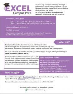 Excel Campus Prep 2020 Poster