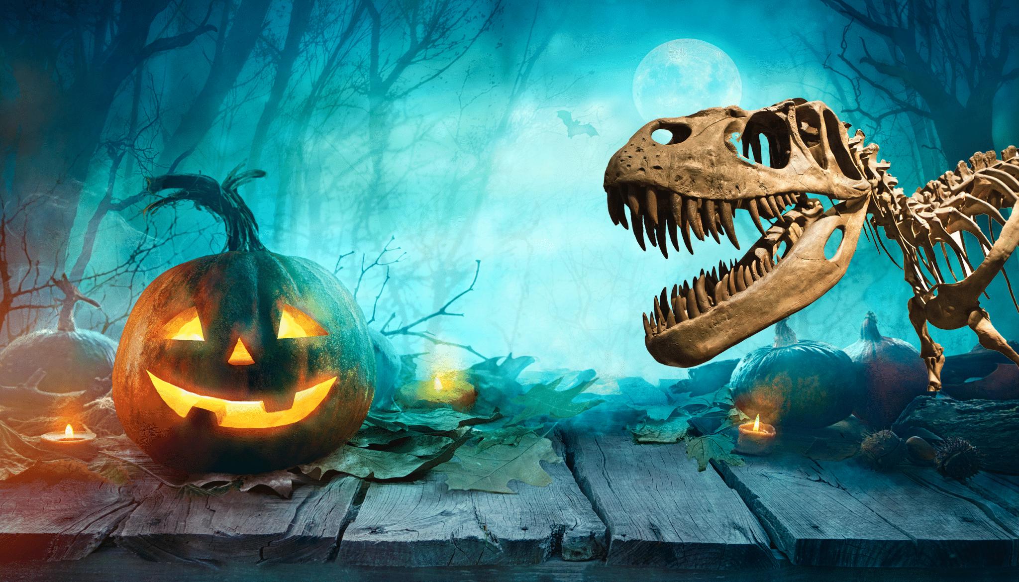 Dinosaur Halloween