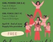 Girls Programs Poster