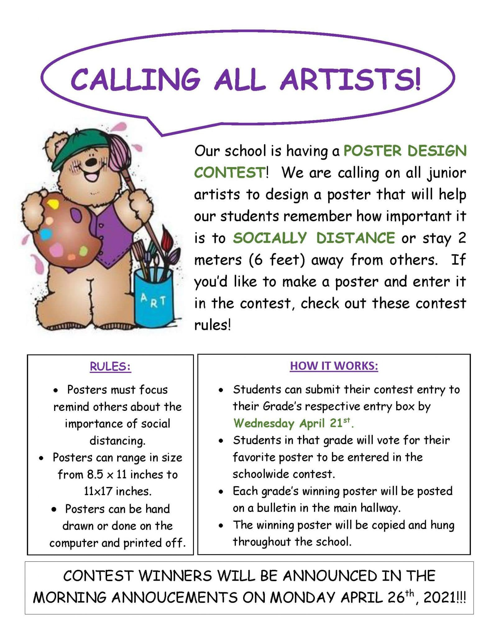 EC Poster Contest